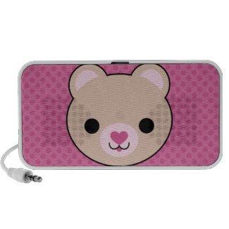 Mega Kawaii Cute Teddy Bear Speaker doodle