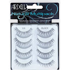 Ardell Lashes, Natural, Black 110, Multipack - 4 pair