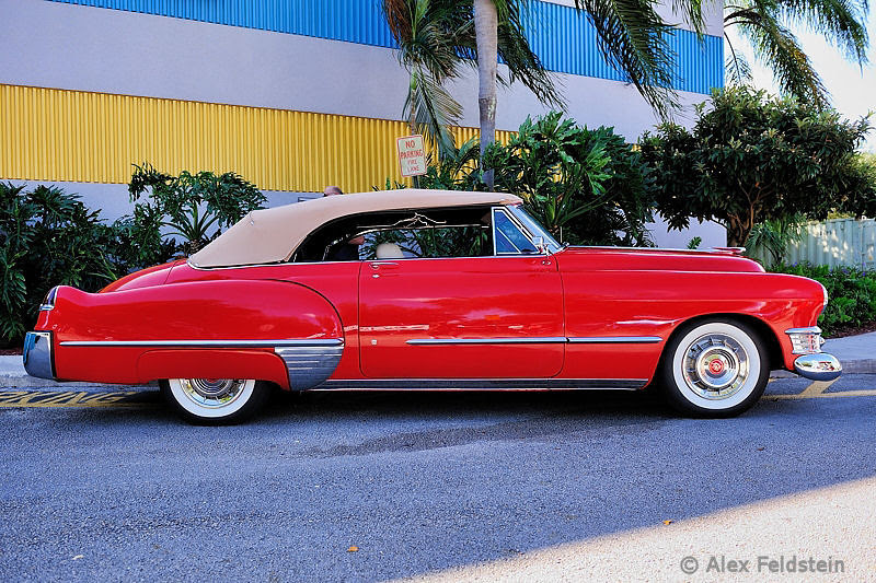 Cadillac with V-8 and Hydra-Matic Drive (1948)
