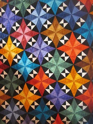 """Circus Stars"" by Teresa Justice, close up"