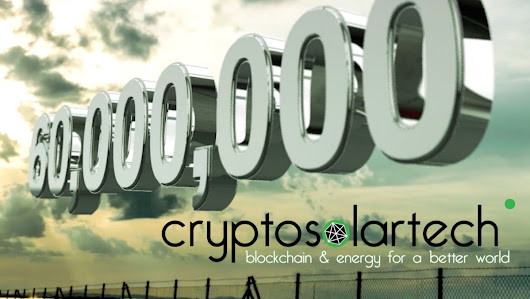 Cryptosolartech reaches 86% of hard cap with 59M € raised