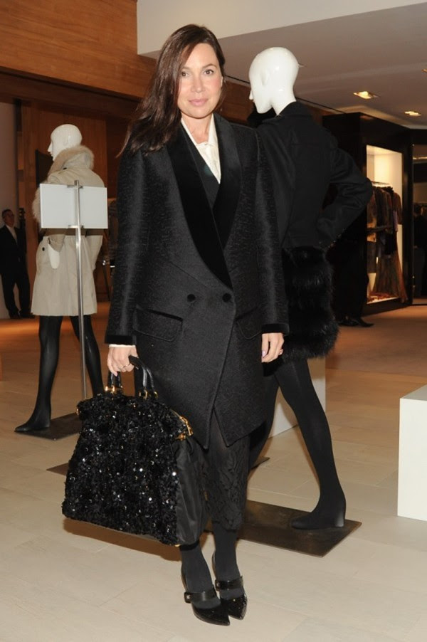 9f Opening of the New Burberry London Shop at Saks Fifth Avenue NY-Fabiola Beracasa