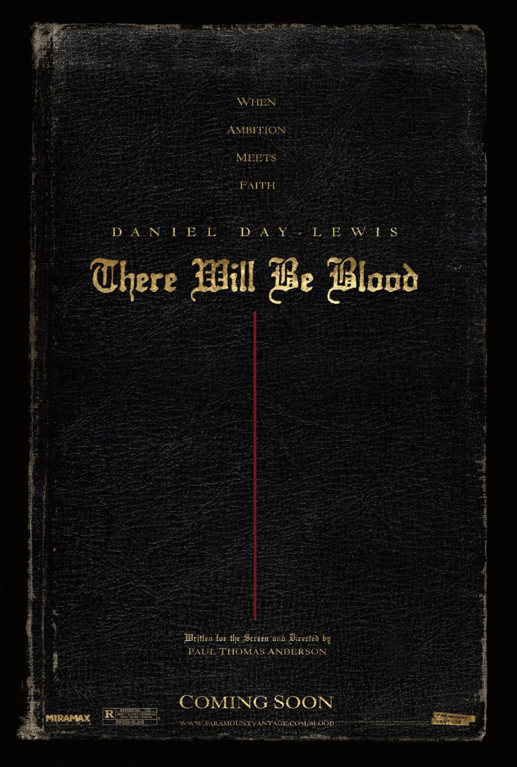 There Will Be Blood Movie Poster 1 Of 5 Imp Awards