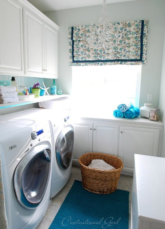 Kate Riley's laundry room