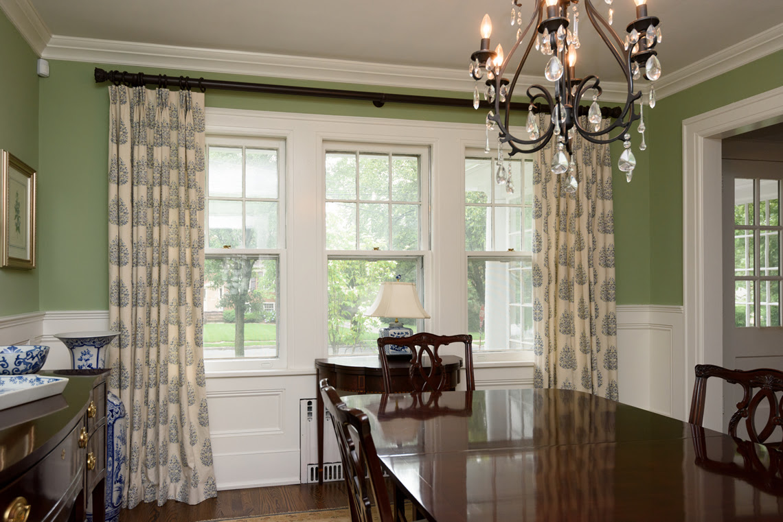 Dining Room Decoration Dining Room Window Treatments
