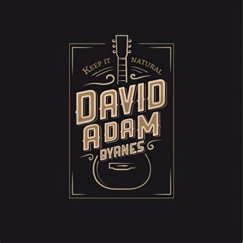 country  band logo design