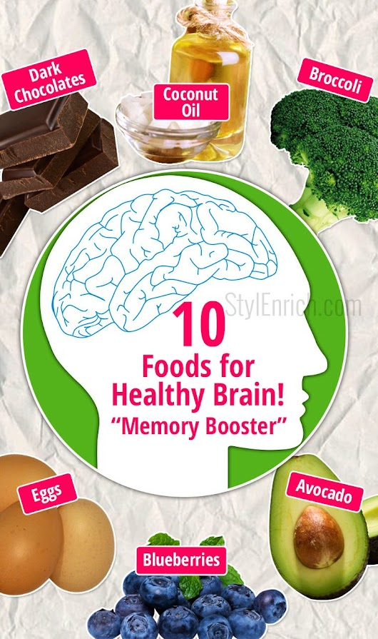 Brain Foods : 10 Essential Memory Booster Just For You!