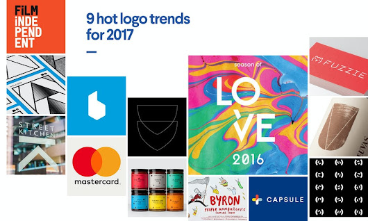 9 hot logo trends for 2017