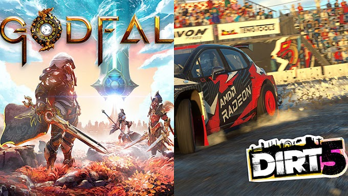 AMD helped the developers of Godfall and DiRT 5 to add shadows with ray tracing, but the difference is barely visible