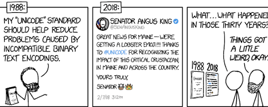 xkcd: The History of Unicode