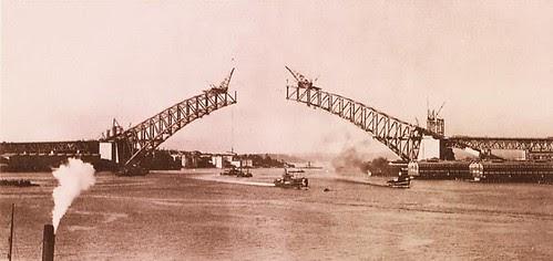 Sydney Harbour Bridge 1930