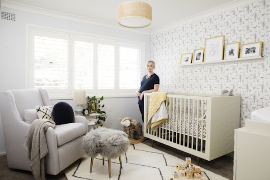 Baby number two's modern and unisex nursery reveal - The Interiors Addict