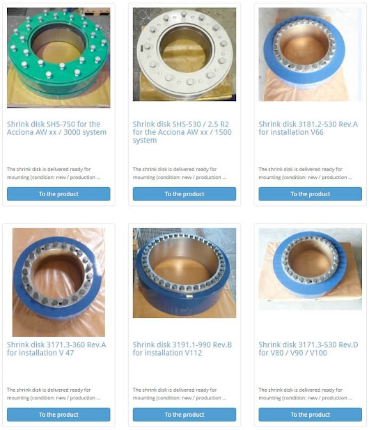 Windsourcing.com stocks spare parts and accessories for wind energy systems
