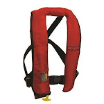 Manual Inflatable Life Vest- Red
