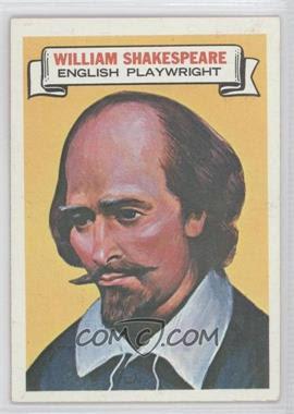 1967 Topps Who am I #8 - William Shakespeare - Courtesy of COMC.com