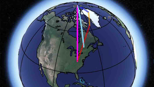 Scientists identify three causes of Earth's spin axis drift | Geology Page
