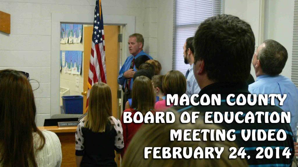 Macon County Board of Education February 2014