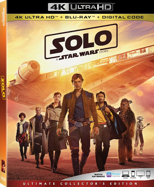 SOLO: A Star Wars Story Blu-Ray (Deleted Scenes!!) - Finding Debra