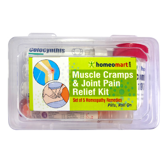 Homeopathy Muscle Cramps and Joint Pain Medicine Kit - Homeopathy Remedies