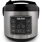EMG ARC150SB Aroma 20 Cup Digital Rice Cooker Stainless steel