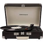 Crosley - Cruiser Deluxe Bluetooth Portable Turntable - Chalkboard