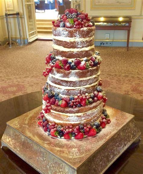 Katy Made Cakes   Naked Wedding Cakes London   Naked Cakes