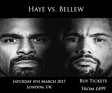 Haye vs Bellew