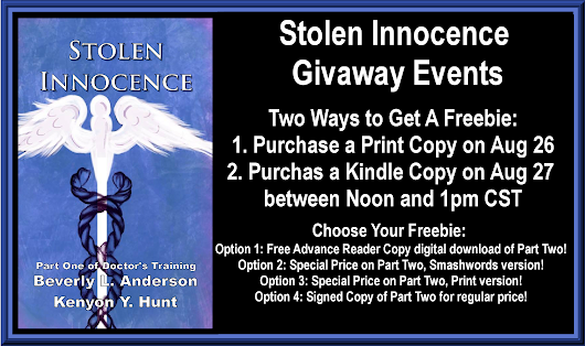 Stolen Innocence | Rewards For Purchase