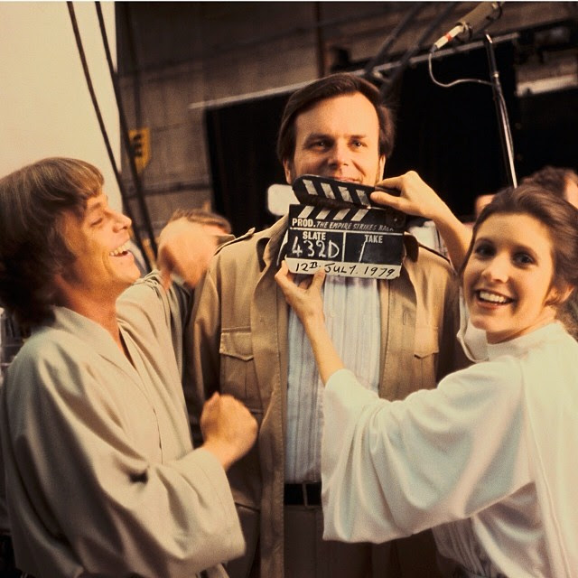 Behind-the-Scenes Photos of Star Wars