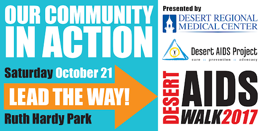 D.A.P. Shines Spotlight on Community Partners for the 2017 Desert AIDS Walk - Desert AIDS Project