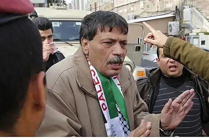Ziad Abu Ein in previous clash.