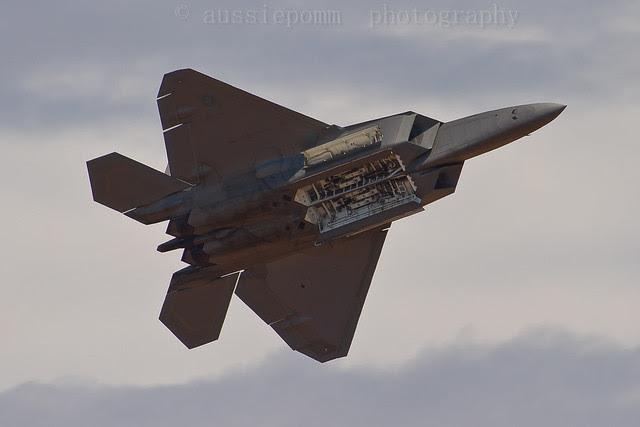 Lockheed Martin F-22A Raptor Avalon Air Show IV