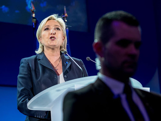 Parisians reject Marine Le Pen while rural support for National Front surges