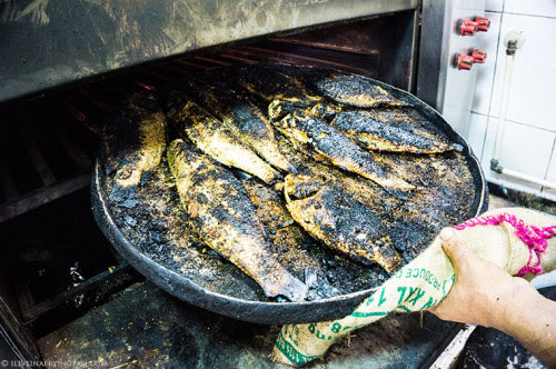 The Freshest Catch: Seasoned, Grilled and Served Up at the Old Deira Fish Market.