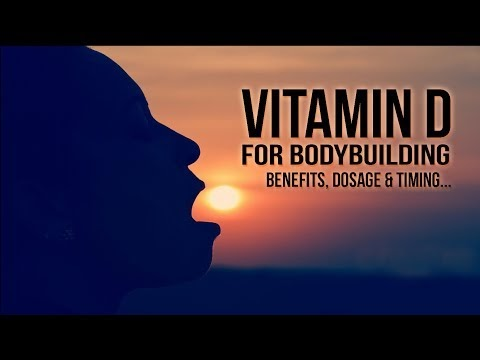 Benefits of Vitamin D For Bodybuilding