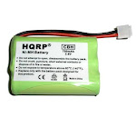 HQRP Cordless Phone Battery compatible with General Electric GE 5-2461 / 52461, 5-2569 / 52569, 5-2637 / 52637, 5-2705 / 52705, 5-2781 / 52781