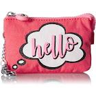 Kipling Creativity Key Chain - Hello/Silver