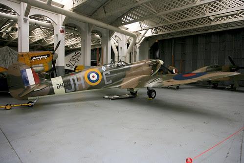 G-MKVB spitfire