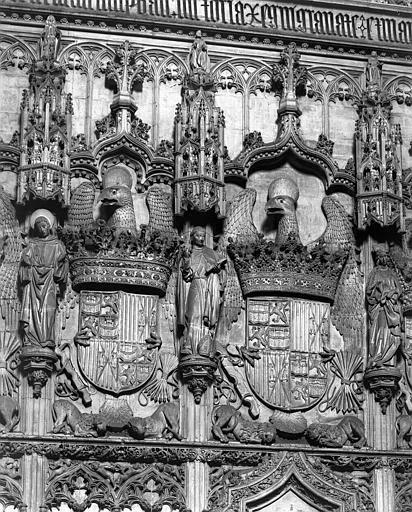 San Juan de Los Reyes hacia 1900. Fotografía de Eugène Lefèvre-Pontalis. Société Française d'Archéologie et Ministère de la Culture (France), Médiathèque de l'architecture et du patrimoine (archives photographiques) diffusion RMN