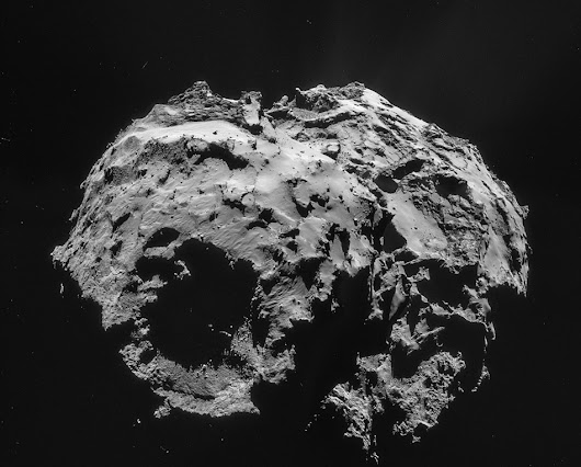 Rosetta Is Tailing a Warming Comet