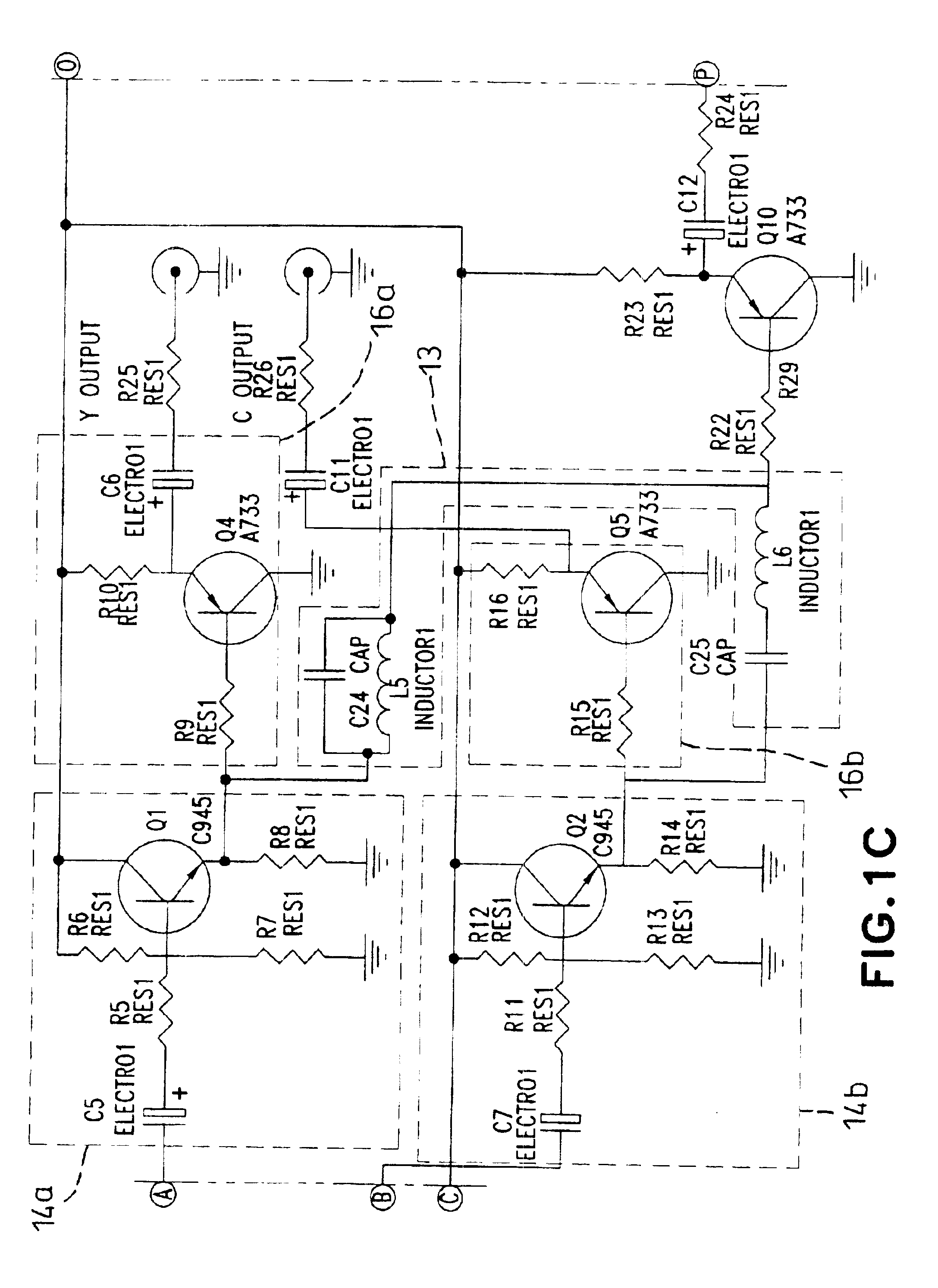 av to rf converter circuit diagram