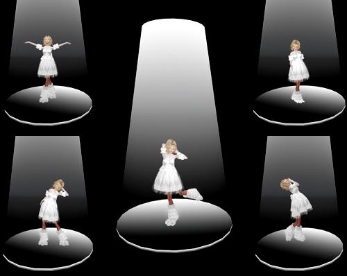 Mannequin. Spotlight Set