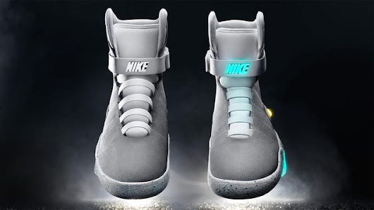 As Promised, Nike Finally Reveals BTTF II Air Mag Sneakers With Power Laces