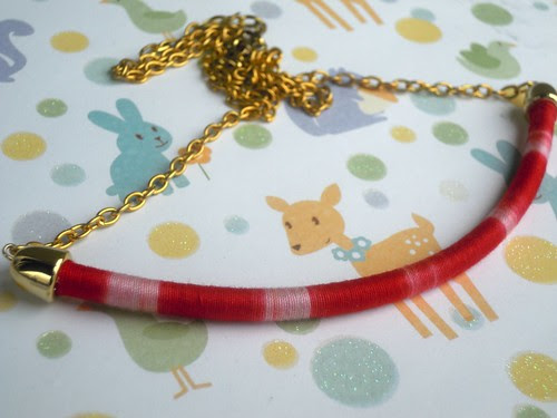 DIY: video tutorial collana ricoperta