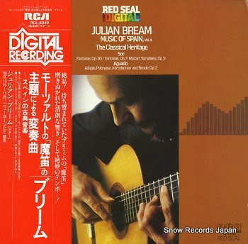 BREAM, JULIAN music of spain vol.4 / the classical heritage