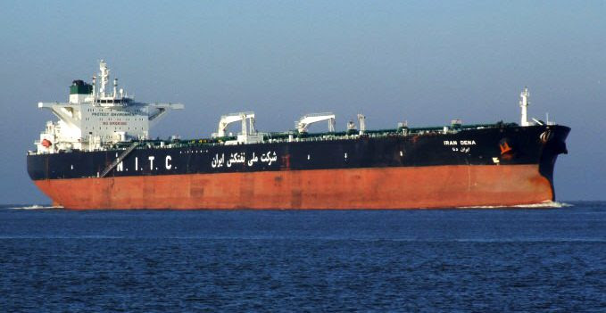NITC oil tanker file photo.