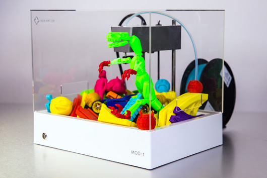 3-D Printers, Now Cheaper, Take On Toys