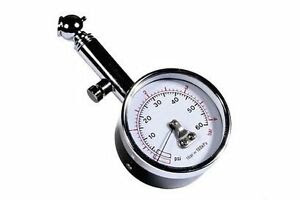 Race X Psi Bar Dial Wheel Tyre Pressure Gauge Dial Tester Meter For Car Van Bike Ebay