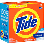 Tide Ultra High Efficiency Original Scent Powder 180 Loads 254 Oz