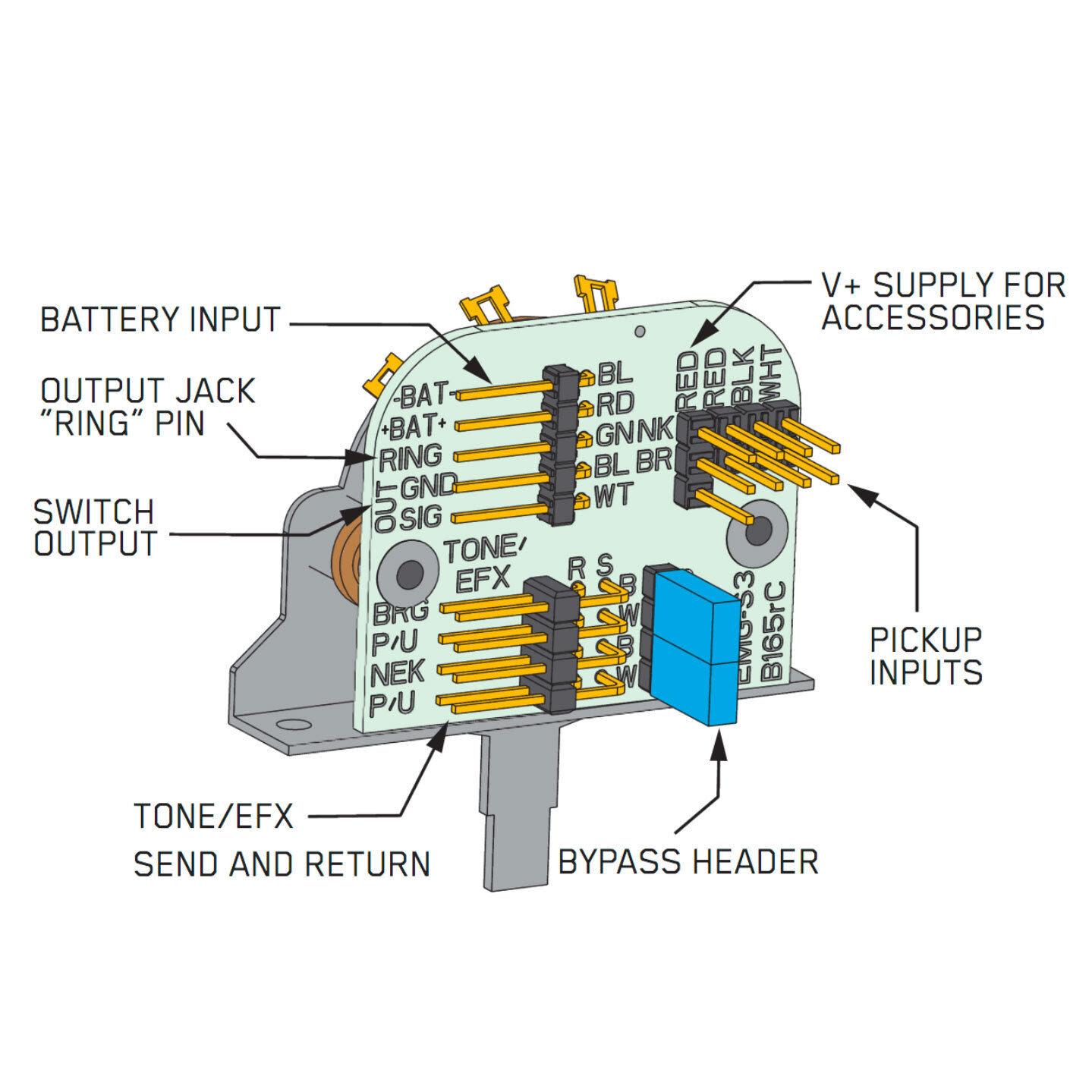 Solderles Guitar Wiring Diagram